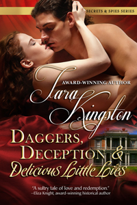 Daggers, Deception & Delicious Little Lies cover