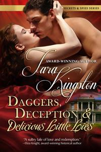 Daggers, Deception & Delicious Little Lies cover