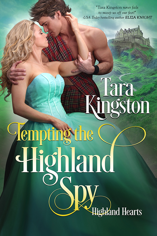 TtHS_500 - Cover for Tempting the Highland Spy