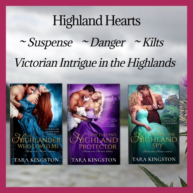 Highland Heart Series Book Covers