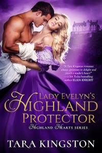 Lady Evelyn's Highland Protector Book Cover
